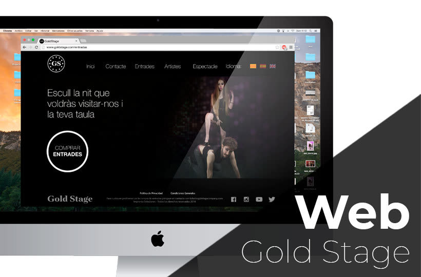 Diseño Web Gold Stage 1