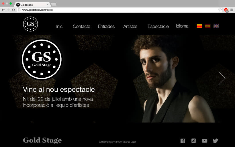 Diseño Web Gold Stage 6