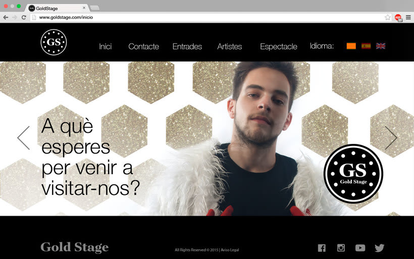 Diseño Web Gold Stage 7