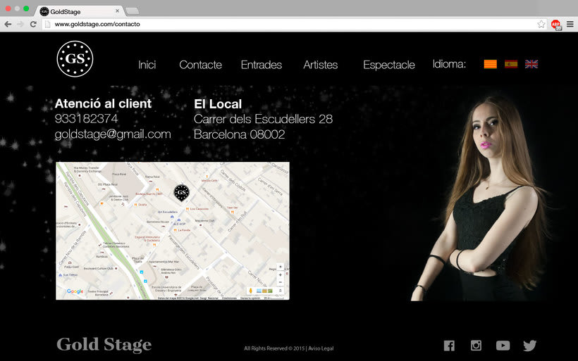 Diseño Web Gold Stage 8