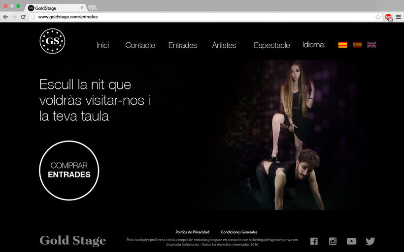 Diseño Web Gold Stage 9