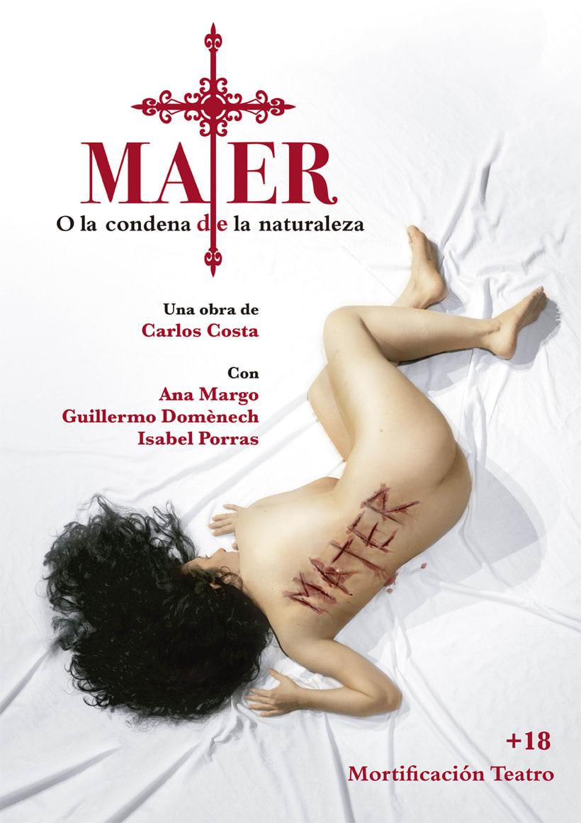 Póster Mater 1
