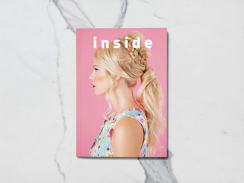 Mi Proyecto del curso: Introducción al Diseño Editorial//Inside Magazine 0
