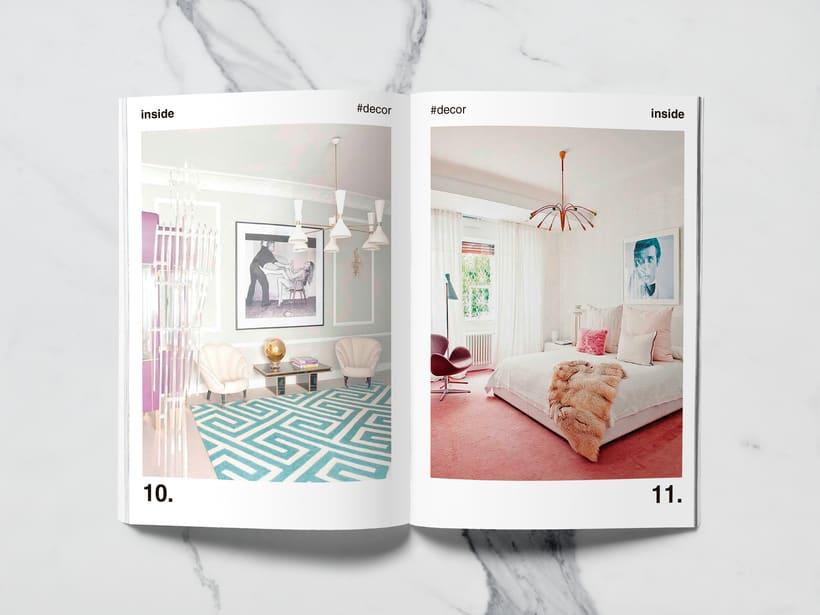 Mi Proyecto del curso: Introducción al Diseño Editorial//Inside Magazine 4