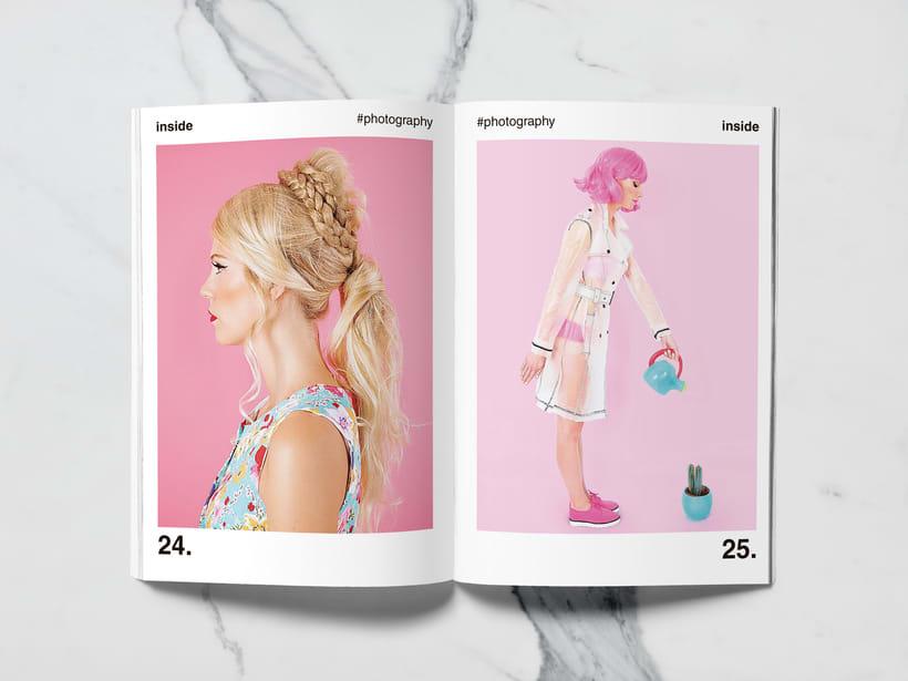 Mi Proyecto del curso: Introducción al Diseño Editorial//Inside Magazine 11