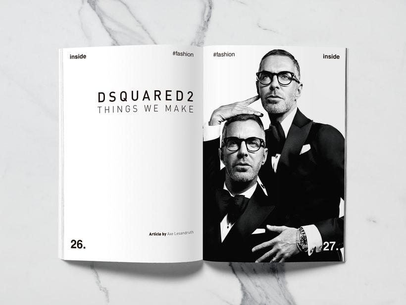 Mi Proyecto del curso: Introducción al Diseño Editorial//Inside Magazine 12
