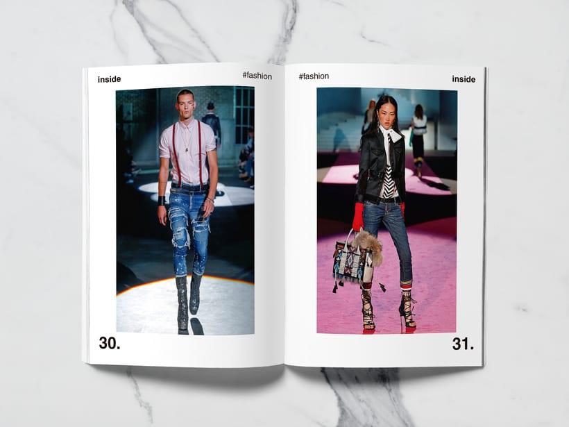 Mi Proyecto del curso: Introducción al Diseño Editorial//Inside Magazine 14