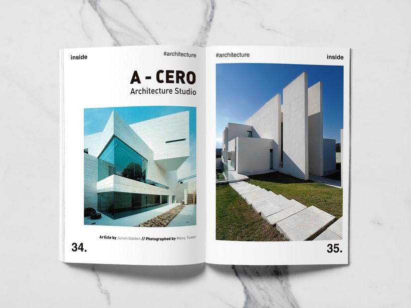 Mi Proyecto del curso: Introducción al Diseño Editorial//Inside Magazine 15
