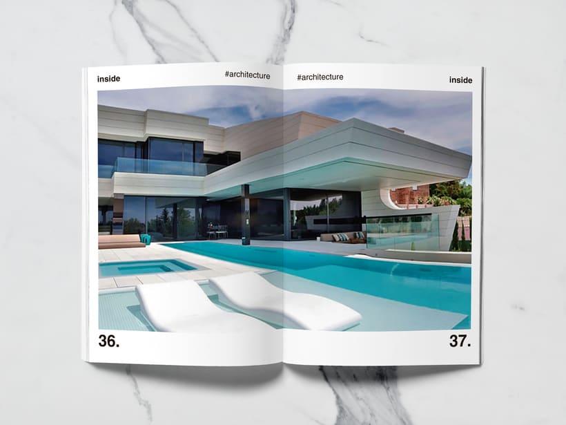 Mi Proyecto del curso: Introducción al Diseño Editorial//Inside Magazine 16