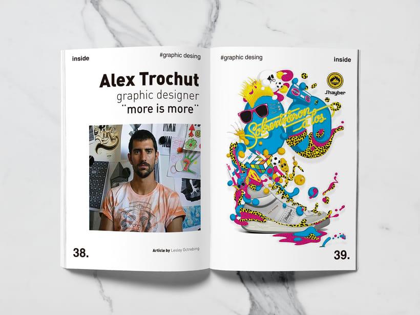Mi Proyecto del curso: Introducción al Diseño Editorial//Inside Magazine 17