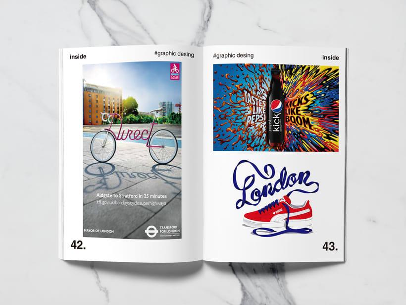 Mi Proyecto del curso: Introducción al Diseño Editorial//Inside Magazine 19