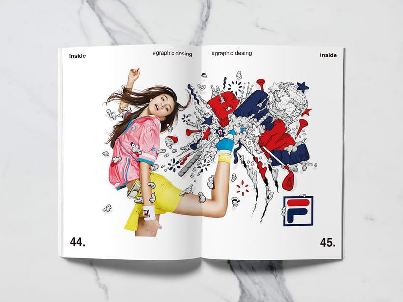 Mi Proyecto del curso: Introducción al Diseño Editorial//Inside Magazine 20