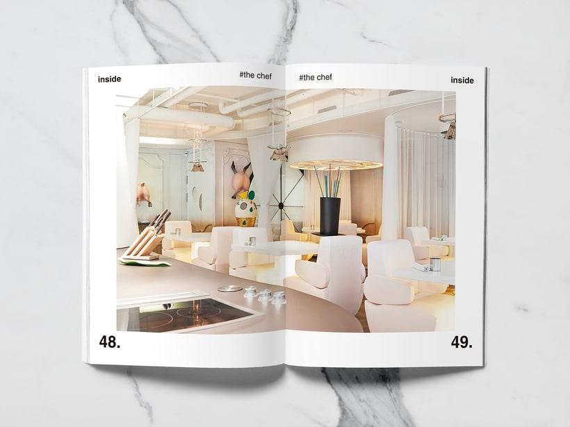 Mi Proyecto del curso: Introducción al Diseño Editorial//Inside Magazine 22