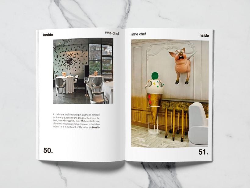 Mi Proyecto del curso: Introducción al Diseño Editorial//Inside Magazine 23