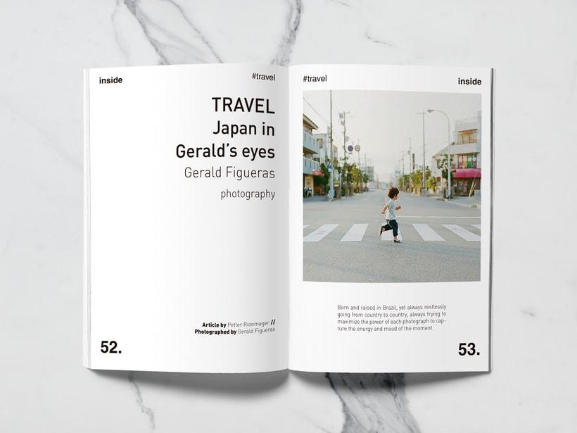 Mi Proyecto del curso: Introducción al Diseño Editorial//Inside Magazine 24
