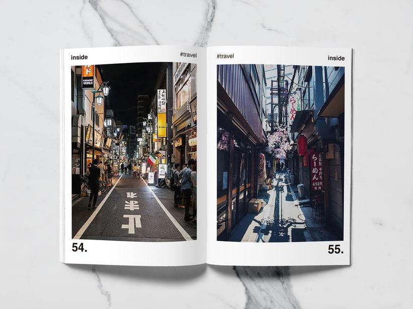 Mi Proyecto del curso: Introducción al Diseño Editorial//Inside Magazine 25