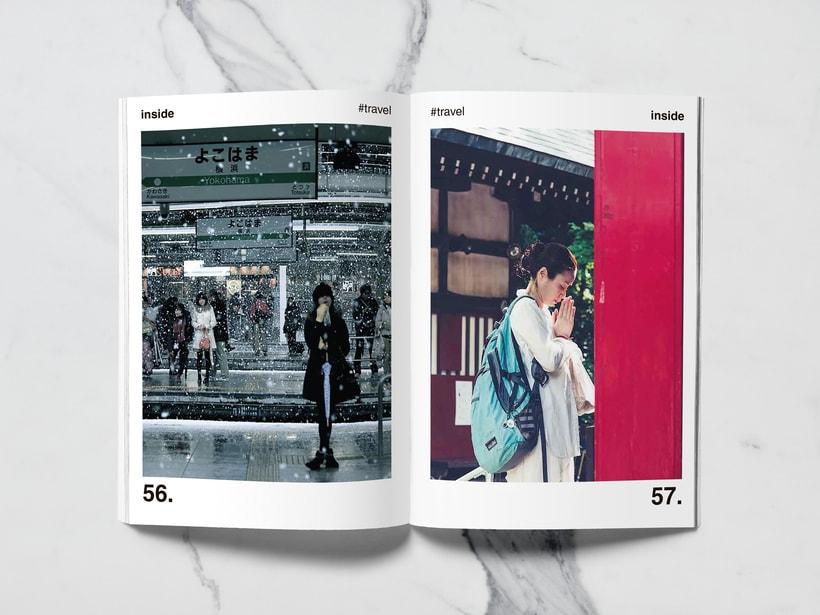 Mi Proyecto del curso: Introducción al Diseño Editorial//Inside Magazine 26