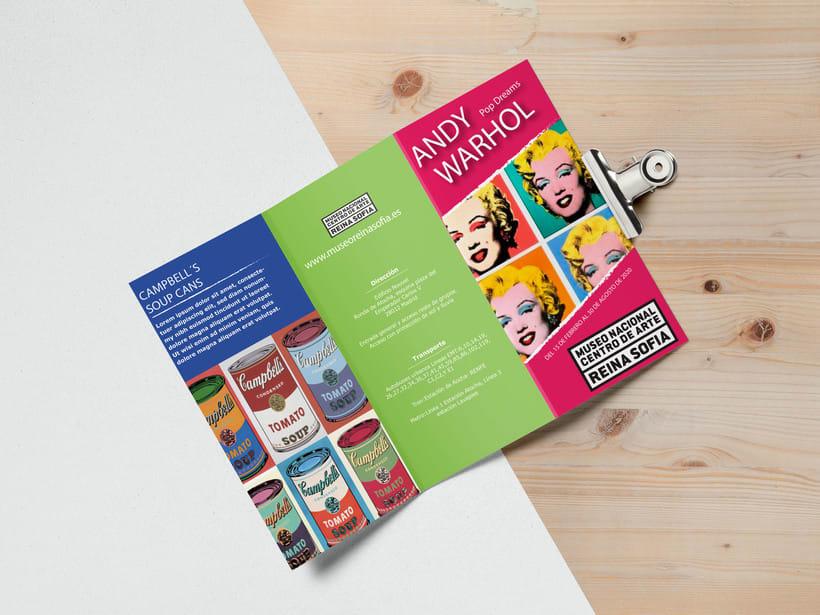 Diseño y maquetación folleto 0