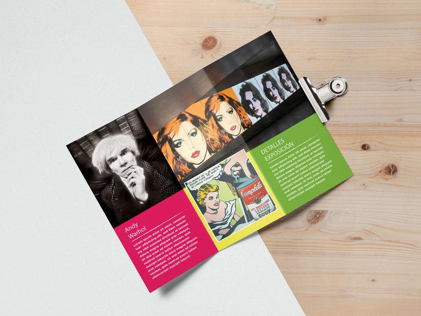Diseño y maquetación folleto 1
