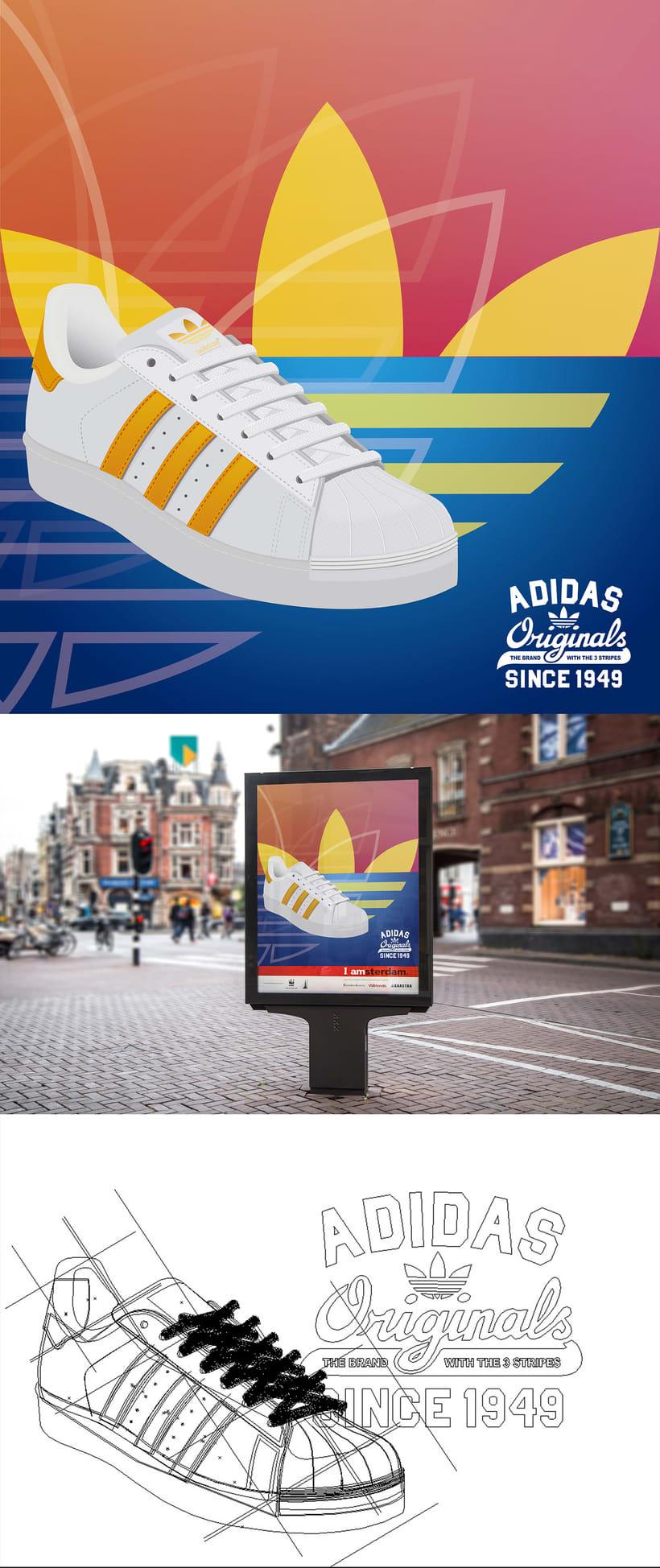 Adidas Originals Poster.  -1
