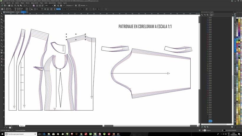 Qué programa para hacer patrones de ropa? | Diseño Textil | Domestika
