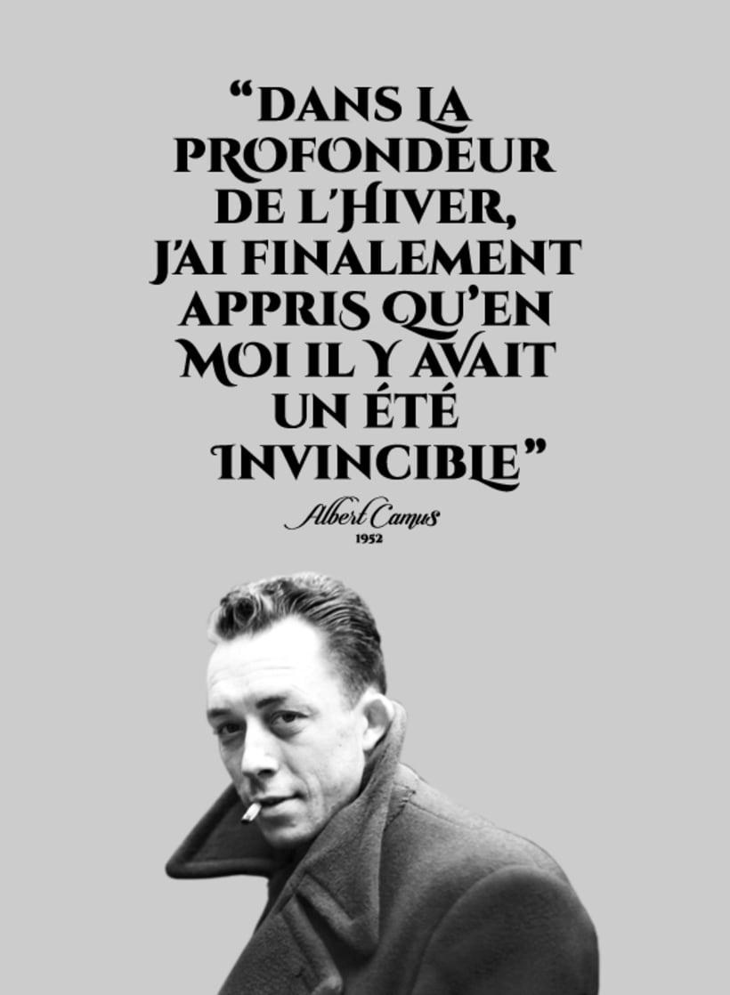 Sentence of Albert Camus -1