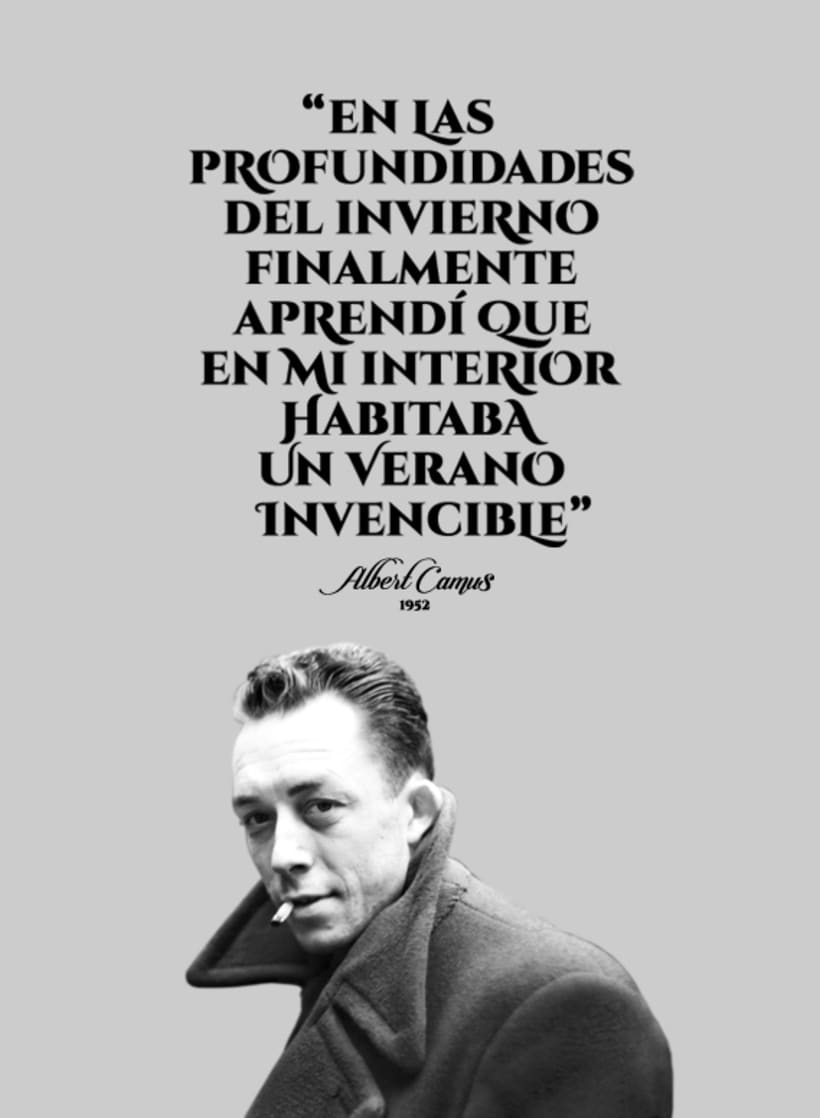 Sentence of Albert Camus 1