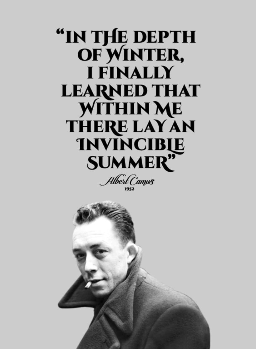Sentence of Albert Camus 3