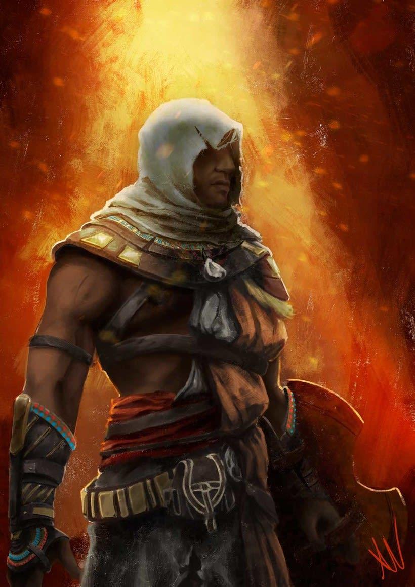 Bayek de Siwa, Assassin's Creed Origins. 0