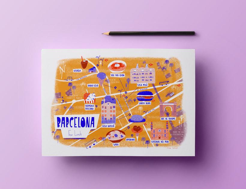 Mapa de Barcelona 5