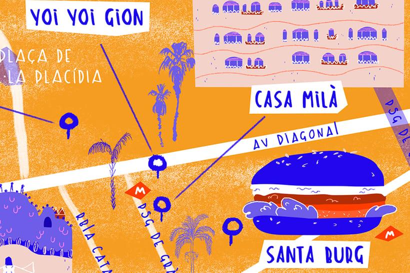 Mapa de Barcelona 3