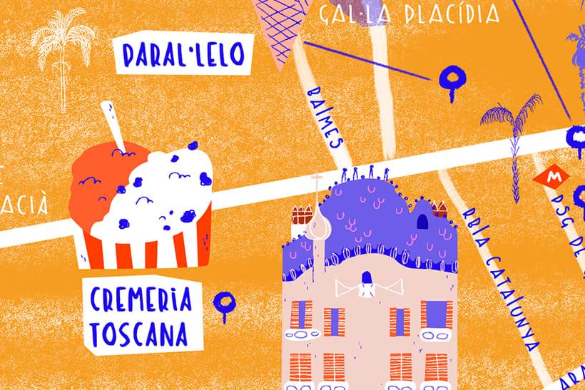 Mapa de Barcelona 4
