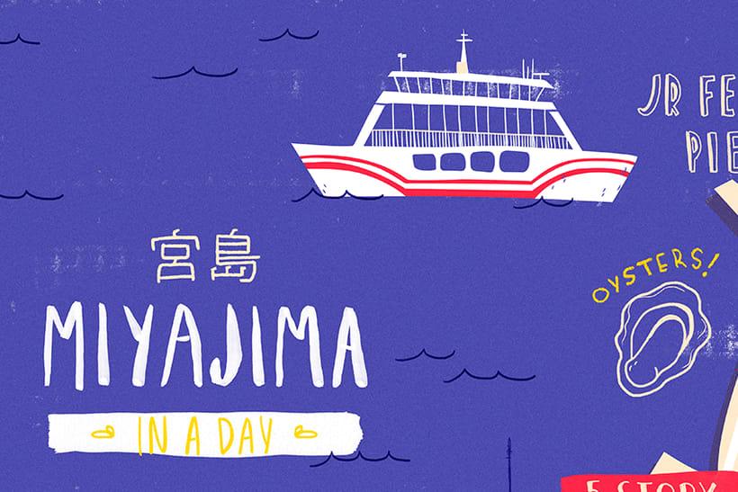 Mapa de Miyajima  1