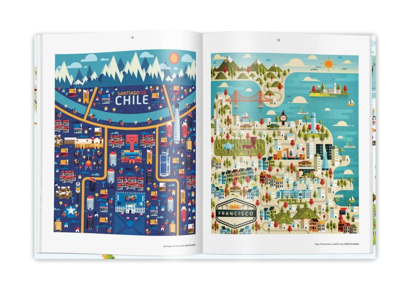 Illustrated maps 1