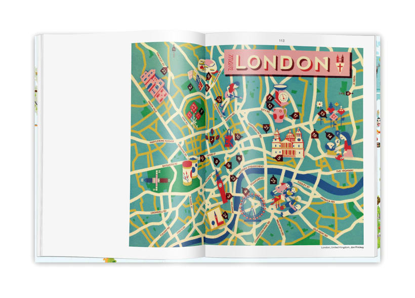 Illustrated maps 7