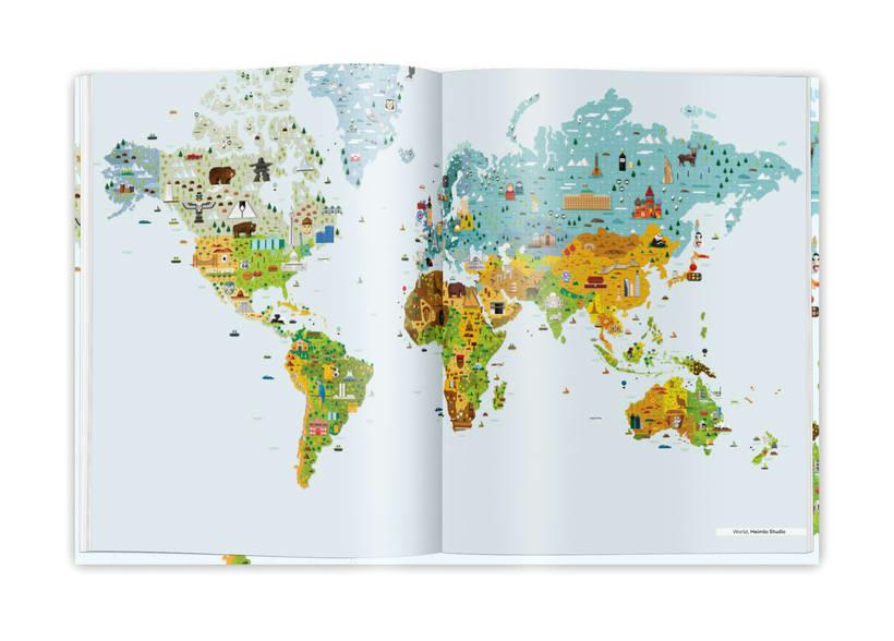Illustrated maps 11