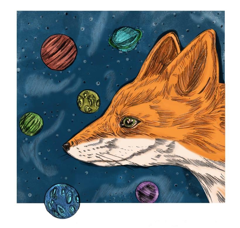 Mi Proyecto del curso: Del dibujo a lápiz a la ilustración digital -1