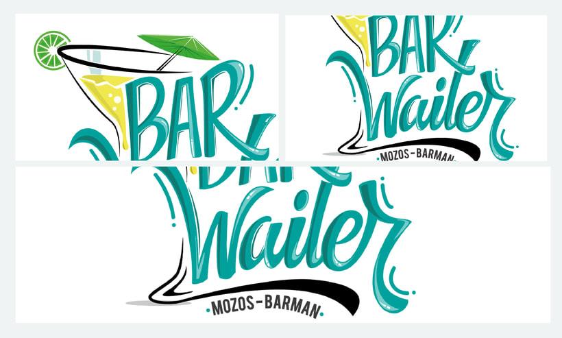 BARWAITER (Mozos - Barman) 5