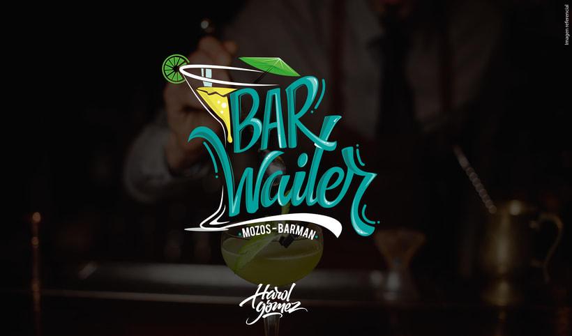 BARWAITER (Mozos - Barman) 8