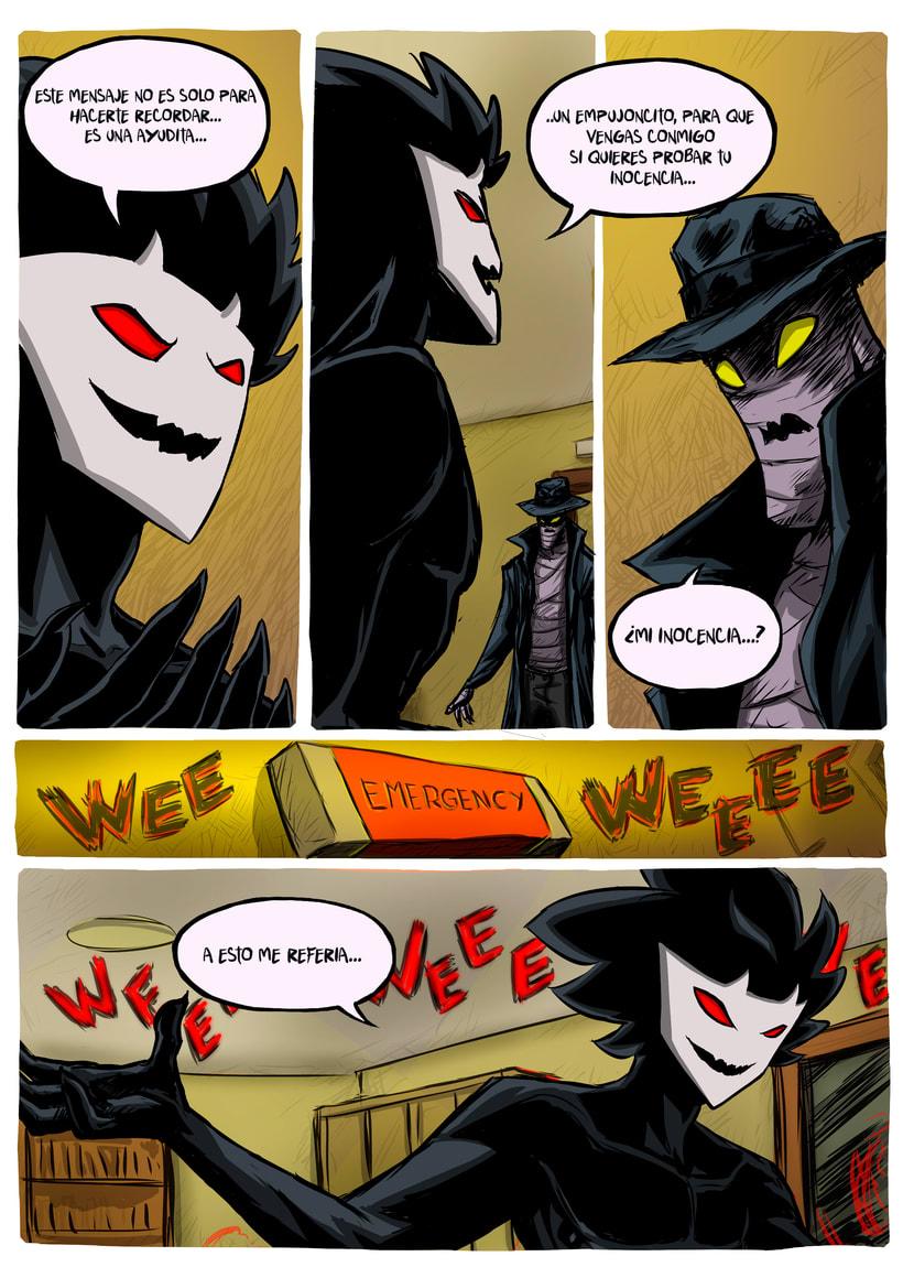 nuevas paginas de Detective Misterio 19
