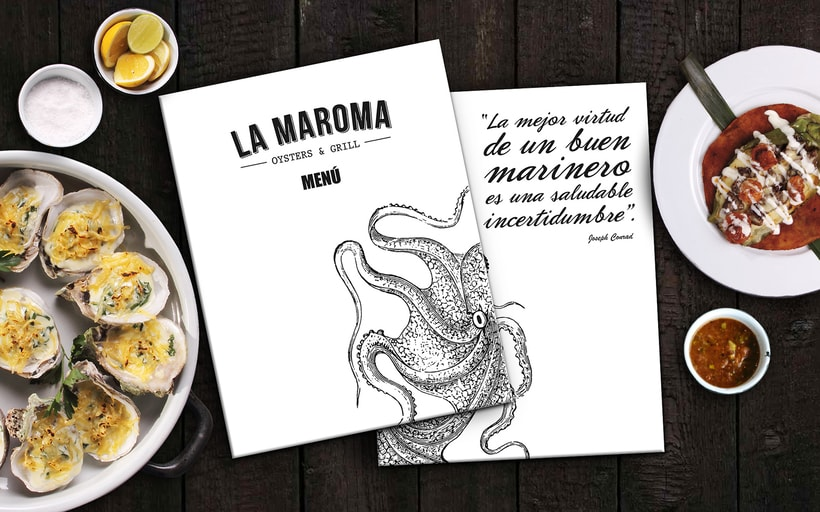 Menú Restaurant La Maroma 0