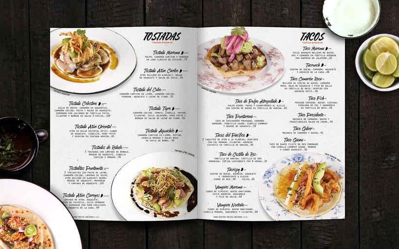 Menú Restaurant La Maroma 1
