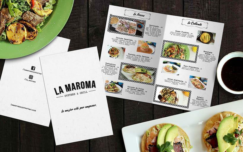 Menú Restaurant La Maroma 6