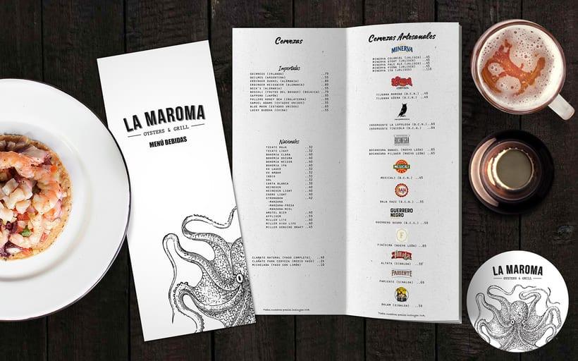 Menú Restaurant La Maroma 7