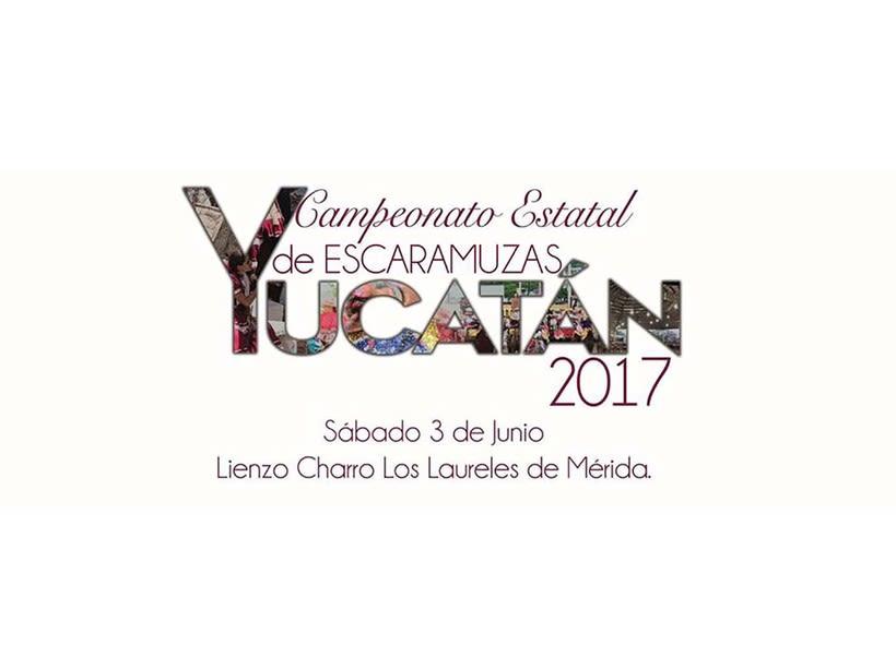 [Logo] Estatal de Escaramuzas Yucatán 2017 0