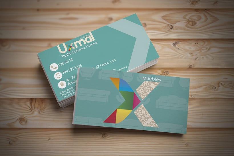 [Branding] Muebles Uxmal 1