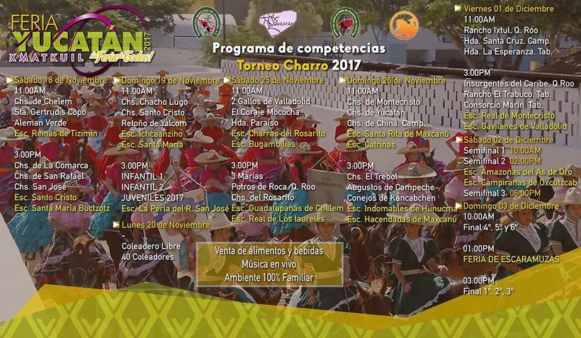 [Promocional] Torneo Charro Xmatkuil 2017 -1