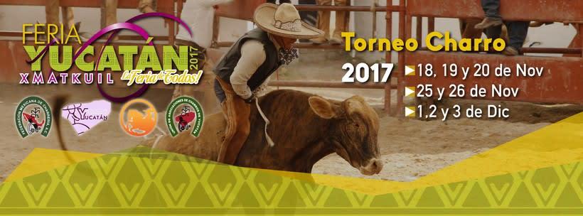 [Promocional] Torneo Charro Xmatkuil 2017 0
