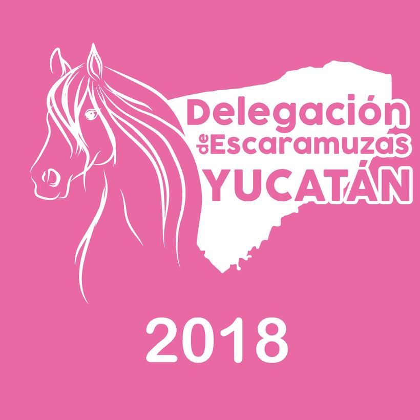 [Logo] Delegación de Escaramuzas Yucatán -1
