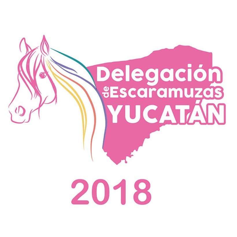 [Logo] Delegación de Escaramuzas Yucatán 0